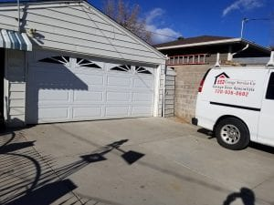, Broken Spring, Garage Service Co. Garage Door Specialists